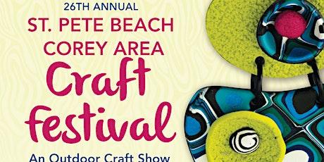26th Annual St. Pete Beach Corey Area Craft Festival tickets
