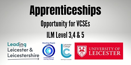 Apprenticeship Information Event for the VCSE Sector tickets