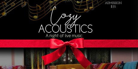 Cozy Acoustics: A Night of Live Music tickets