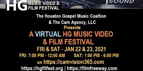 2021 Virtual HG Music Video and Film Festival tickets