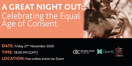 A Great Night Out: Celebrating the Equal Age of Consent tickets