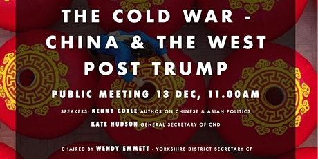 THE COLD WAR - CHINA & THE WEST POST TRUMP tickets