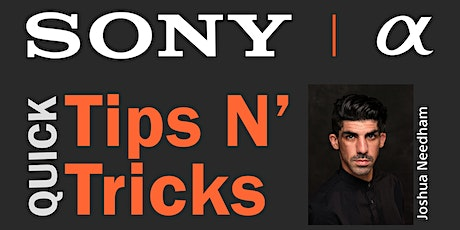 Sony Tips N' Tricks for New Camera Owners tickets