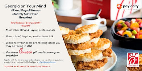 Georgia on Your Mind Monthly Motivation Breakfast tickets