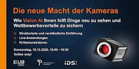 Die neue Macht der Kameras - Deep Dive Event des KI Lab Kurpfalz tickets