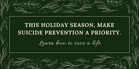 Southeast TN Suicide Prevention Training Before the Holidays tickets