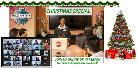 Christmas Special - Public Speaking in Practice - Sydney, CBD tickets