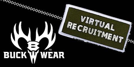 Buck Wear Warehouse Recruitment tickets