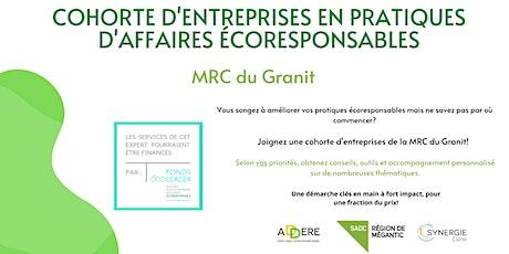 Séance d'information - Cohorte écoresponsable MRC du Granit billets