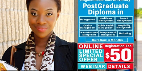 Free European Postgraduate Diploma Webinar and Certificate of Attendance! tickets