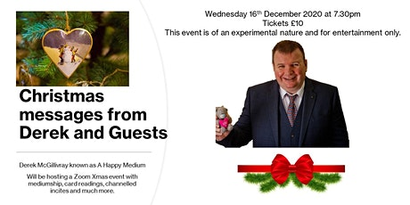 Christmas Messages from Derek and guests tickets