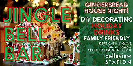 Gingerbread House Decorating Night: December 10 tickets