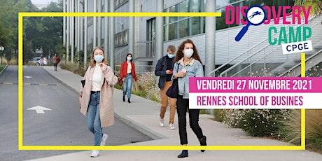 Discovery Camp Programme Grande Ecole Spécial Prépa @Rennes SB [A DISTANCE] billets
