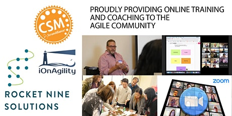 Bob Sarni|San Diego-In-person|Scrum Master Training |CSM|Nov.2021 tickets