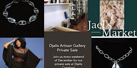 Djalis Artisan Gallery Private Sales tickets