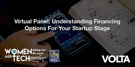 WTWT Virtual Panel: Understanding Financing Options for your Startup Stage tickets