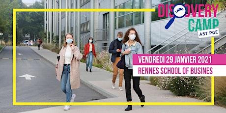 Discovery Camp Programme Grande Ecole Spécial Tremplin @Rennes SB billets