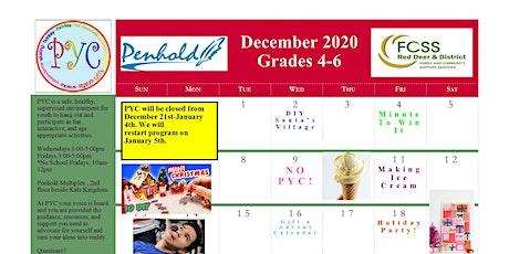 PYC Grades 4-6: December 2020 tickets