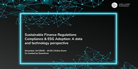 SF Regulation compliance & ESG adoption: A data and technology perspective tickets