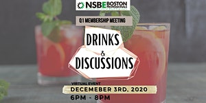 Q1 Membership Meeting: DRINKS AND DISCUSSIONS