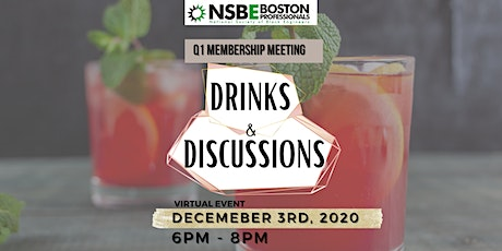 Q1 Membership Meeting: DRINKS AND DISCUSSIONS tickets