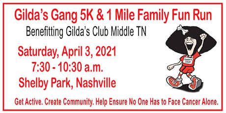 Gilda's Gang 5K and 1 Mile Family Fun Run tickets