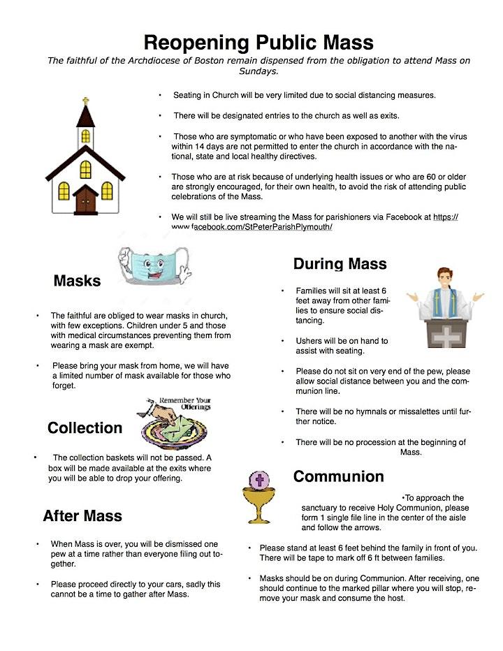 St. Peter Parish Catholic Mass image