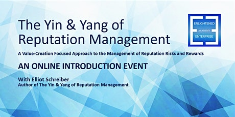 The Yin & Yang of Reputation Management: An Introduction + eBook tickets