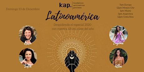 KAP LATINOAMERICA Virtual Open Class - 13 de Diciembre - Shakti Power entradas