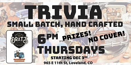 Small Batched, Hand Crafted TRIVIA! tickets