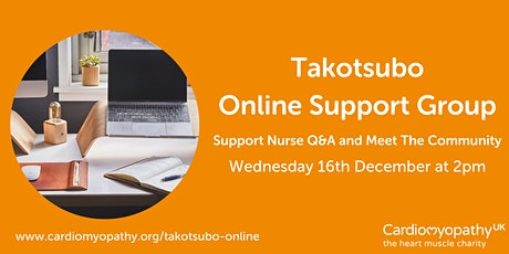 Takotsubo Online Support Group tickets