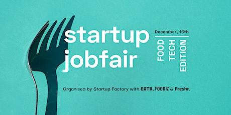 Startup Jobfair // Food-tech edition tickets