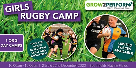 Girls Rugby Camp in Tunbridge Wells. December 2020 tickets