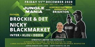 Jungle Mania presents a Socially Distanced Production - Brighton Poster