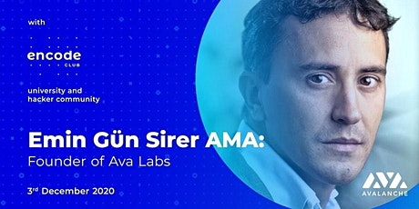 Encode Club: Emin Gün Sirer (Founder, Ava Labs) tickets
