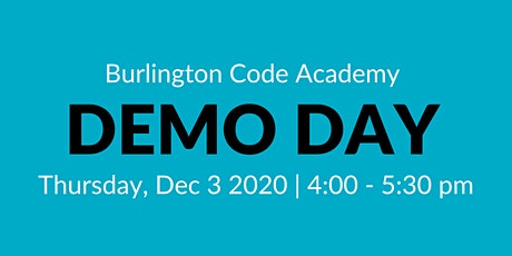 Software Development Bootcamp Demo Day tickets