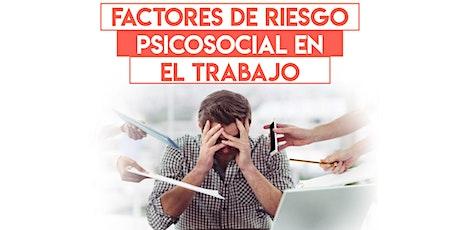 NOM 035 Factores de Riesgo Psicosocial entradas