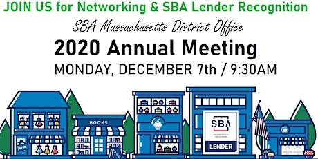 SBA Massachusetts District Office Annual Meeting tickets