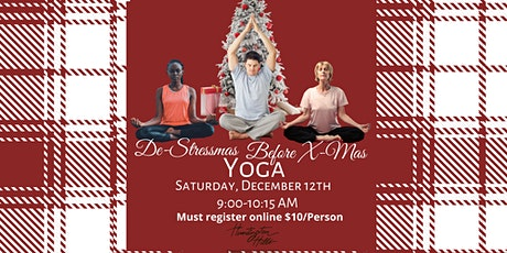 Destress-Mas Before X-Mas Yoga tickets