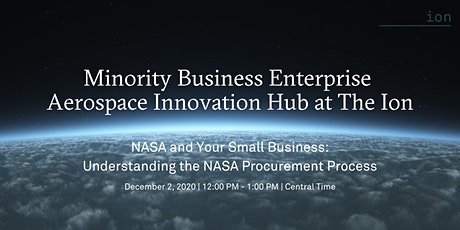 NASA and Your Small Business: Understanding the NASA Procurement Process tickets