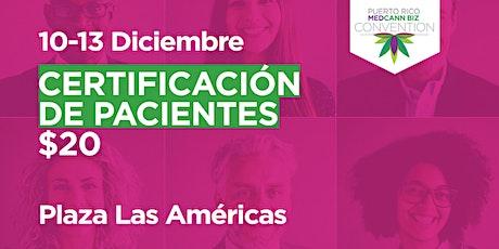 Certificación de Pacientes de CM |(10 & 13 de Diciembre de 2020) tickets