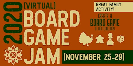2020 Virtual Board Game Jam tickets