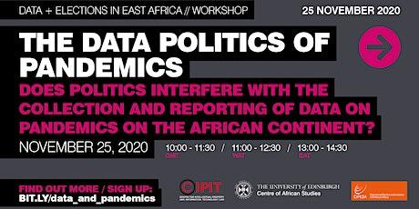 The Data Politics of Pandemics tickets