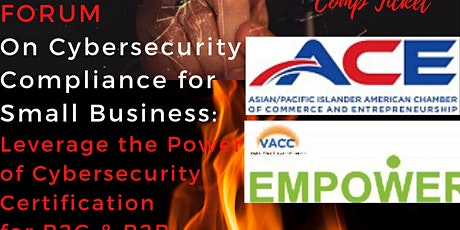 Forum on Cyber Security Compliance For Small Businesses tickets