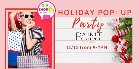 Holiday Pop Up Party at Paint tickets