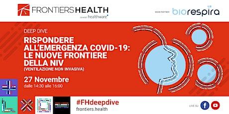 Rispondere all'emergenza Covid-19: le nuove frontiere della NIV biglietti