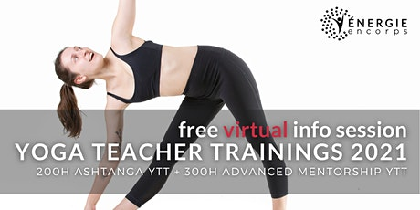 VIRTUAL Free Info-Session: 200hr Ashtanga YTT + 300hr Mentorship 2021 tickets