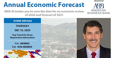 RMA IE Annual Economic Forecast feat. Dr. Robert Kleinhenz, Ph.D. tickets