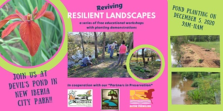BANKLINE |Reviving Resilient Landscapes Workshop