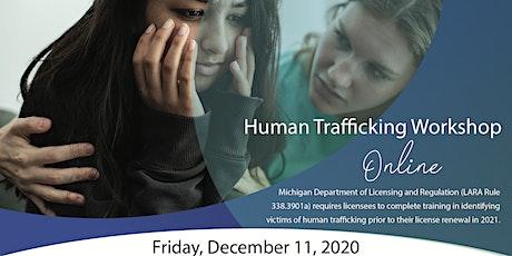 Online Human Trafficking Workshop tickets